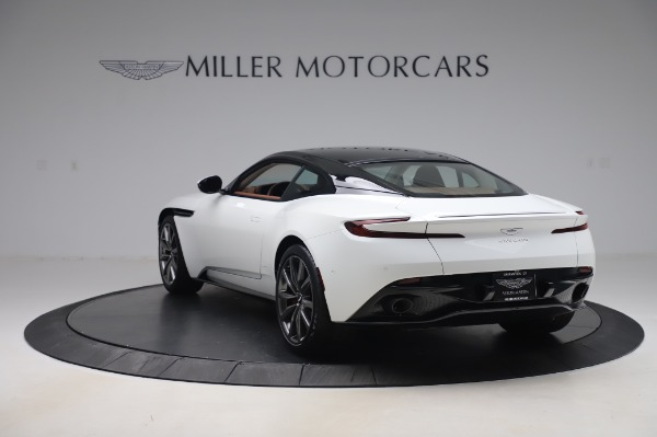 New 2020 Aston Martin DB11 V8 for sale $233,266 at Pagani of Greenwich in Greenwich CT 06830 4