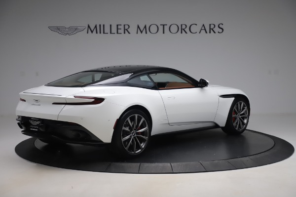 New 2020 Aston Martin DB11 V8 for sale $233,266 at Pagani of Greenwich in Greenwich CT 06830 7