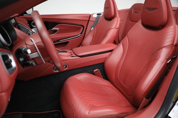 New 2020 Aston Martin DB11 Volante Convertible for sale $247,386 at Pagani of Greenwich in Greenwich CT 06830 21