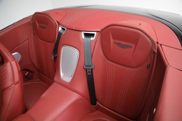 New 2020 Aston Martin DB11 Volante Convertible for sale $247,386 at Pagani of Greenwich in Greenwich CT 06830 22