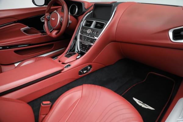 New 2020 Aston Martin DB11 Volante Convertible for sale $247,386 at Pagani of Greenwich in Greenwich CT 06830 24