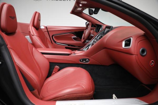 New 2020 Aston Martin DB11 Volante Convertible for sale $247,386 at Pagani of Greenwich in Greenwich CT 06830 25
