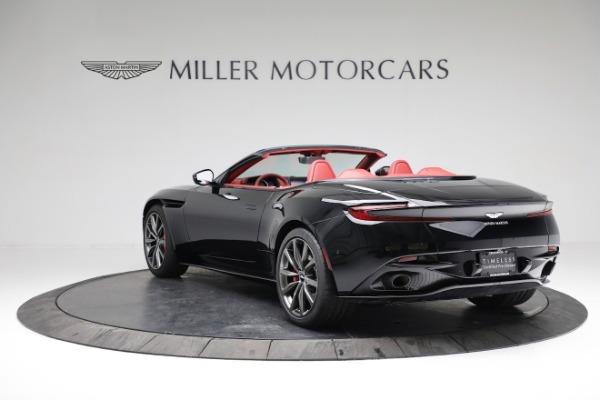 New 2020 Aston Martin DB11 Volante Convertible for sale $247,386 at Pagani of Greenwich in Greenwich CT 06830 4