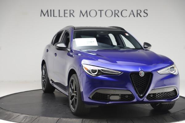 New 2020 Alfa Romeo Stelvio Ti Sport Q4 for sale $57,945 at Pagani of Greenwich in Greenwich CT 06830 11