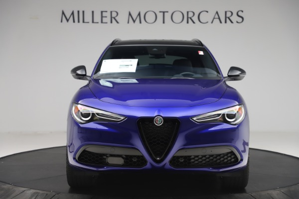 New 2020 Alfa Romeo Stelvio Ti Sport Q4 for sale $57,945 at Pagani of Greenwich in Greenwich CT 06830 12