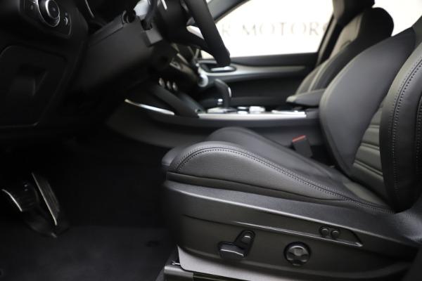 New 2020 Alfa Romeo Stelvio Ti Sport Q4 for sale $57,945 at Pagani of Greenwich in Greenwich CT 06830 14