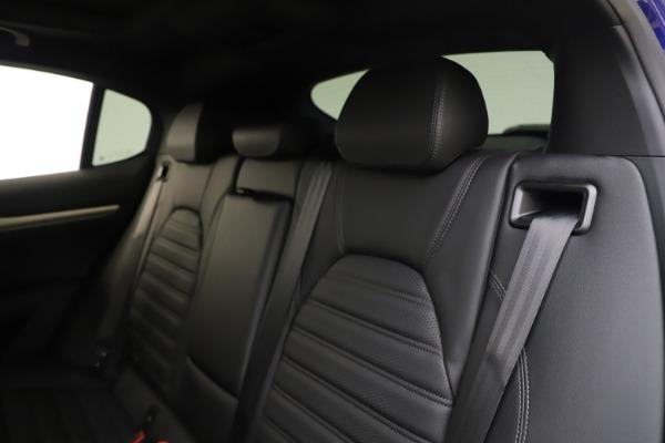 New 2020 Alfa Romeo Stelvio Ti Sport Q4 for sale $57,945 at Pagani of Greenwich in Greenwich CT 06830 18