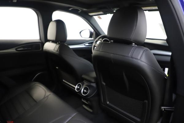 New 2020 Alfa Romeo Stelvio Ti Sport Q4 for sale $57,945 at Pagani of Greenwich in Greenwich CT 06830 28