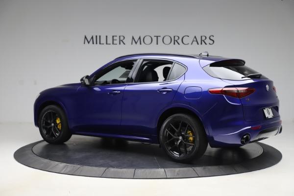 New 2020 Alfa Romeo Stelvio Ti Sport Q4 for sale $57,945 at Pagani of Greenwich in Greenwich CT 06830 4