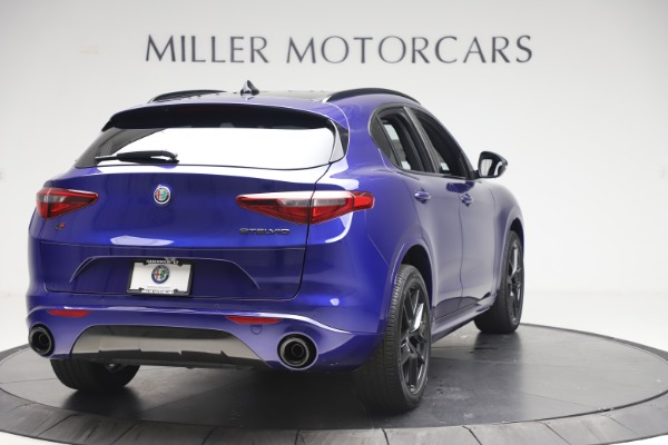 New 2020 Alfa Romeo Stelvio Ti Sport Q4 for sale $57,945 at Pagani of Greenwich in Greenwich CT 06830 7