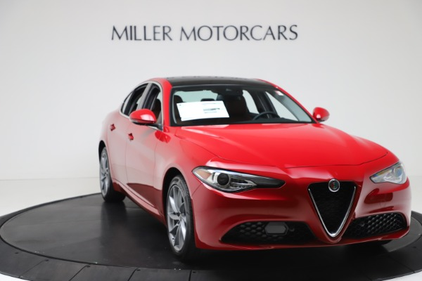 New 2020 Alfa Romeo Giulia Q4 for sale $46,395 at Pagani of Greenwich in Greenwich CT 06830 11