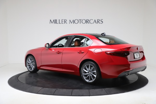 New 2020 Alfa Romeo Giulia Q4 for sale $46,395 at Pagani of Greenwich in Greenwich CT 06830 4