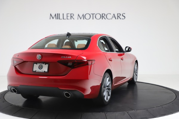 New 2020 Alfa Romeo Giulia Q4 for sale $46,395 at Pagani of Greenwich in Greenwich CT 06830 7