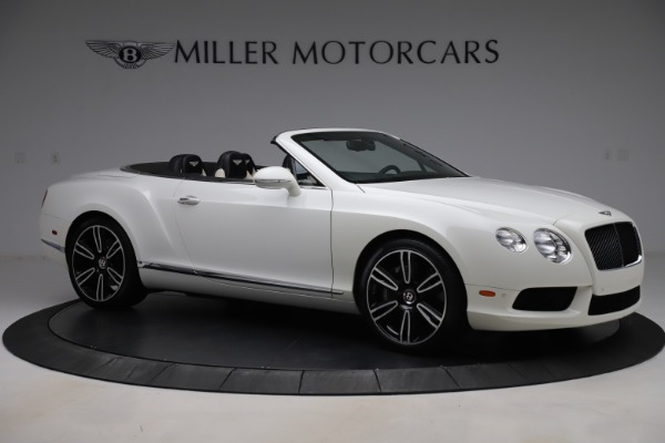 Used 2014 Bentley Continental GTC V8 for sale $109,900 at Pagani of Greenwich in Greenwich CT 06830 10