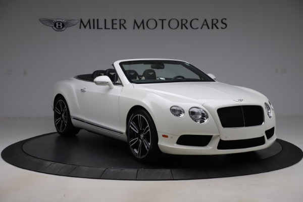Used 2014 Bentley Continental GTC V8 for sale $109,900 at Pagani of Greenwich in Greenwich CT 06830 11