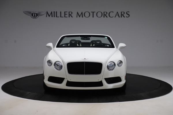 Used 2014 Bentley Continental GTC V8 for sale $109,900 at Pagani of Greenwich in Greenwich CT 06830 12