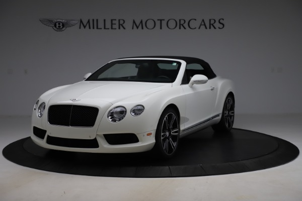 Used 2014 Bentley Continental GTC V8 for sale $109,900 at Pagani of Greenwich in Greenwich CT 06830 13