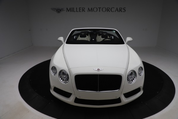 Used 2014 Bentley Continental GTC V8 for sale $109,900 at Pagani of Greenwich in Greenwich CT 06830 19