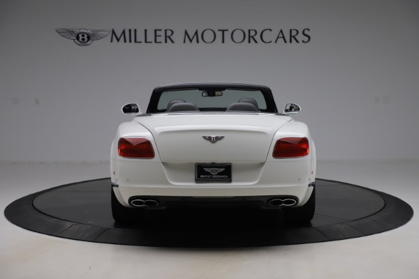 Used 2014 Bentley Continental GTC V8 for sale $109,900 at Pagani of Greenwich in Greenwich CT 06830 6