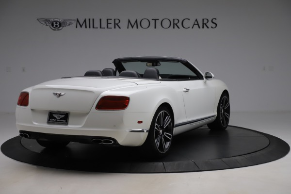 Used 2014 Bentley Continental GTC V8 for sale $109,900 at Pagani of Greenwich in Greenwich CT 06830 7