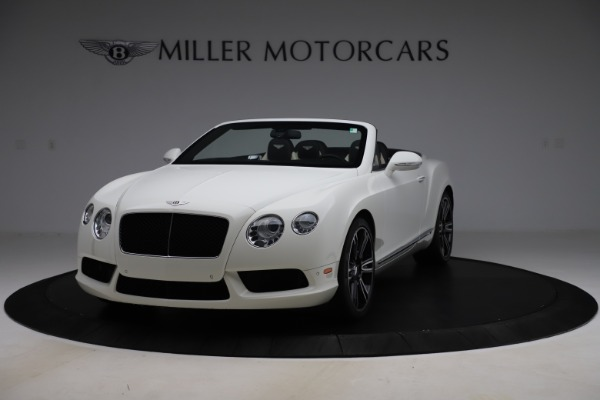 Used 2014 Bentley Continental GTC V8 for sale $109,900 at Pagani of Greenwich in Greenwich CT 06830 1