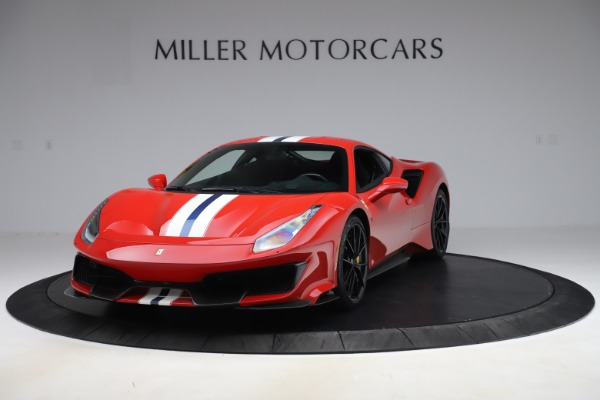 Used 2019 Ferrari 488 Pista for sale $451,900 at Pagani of Greenwich in Greenwich CT 06830 1