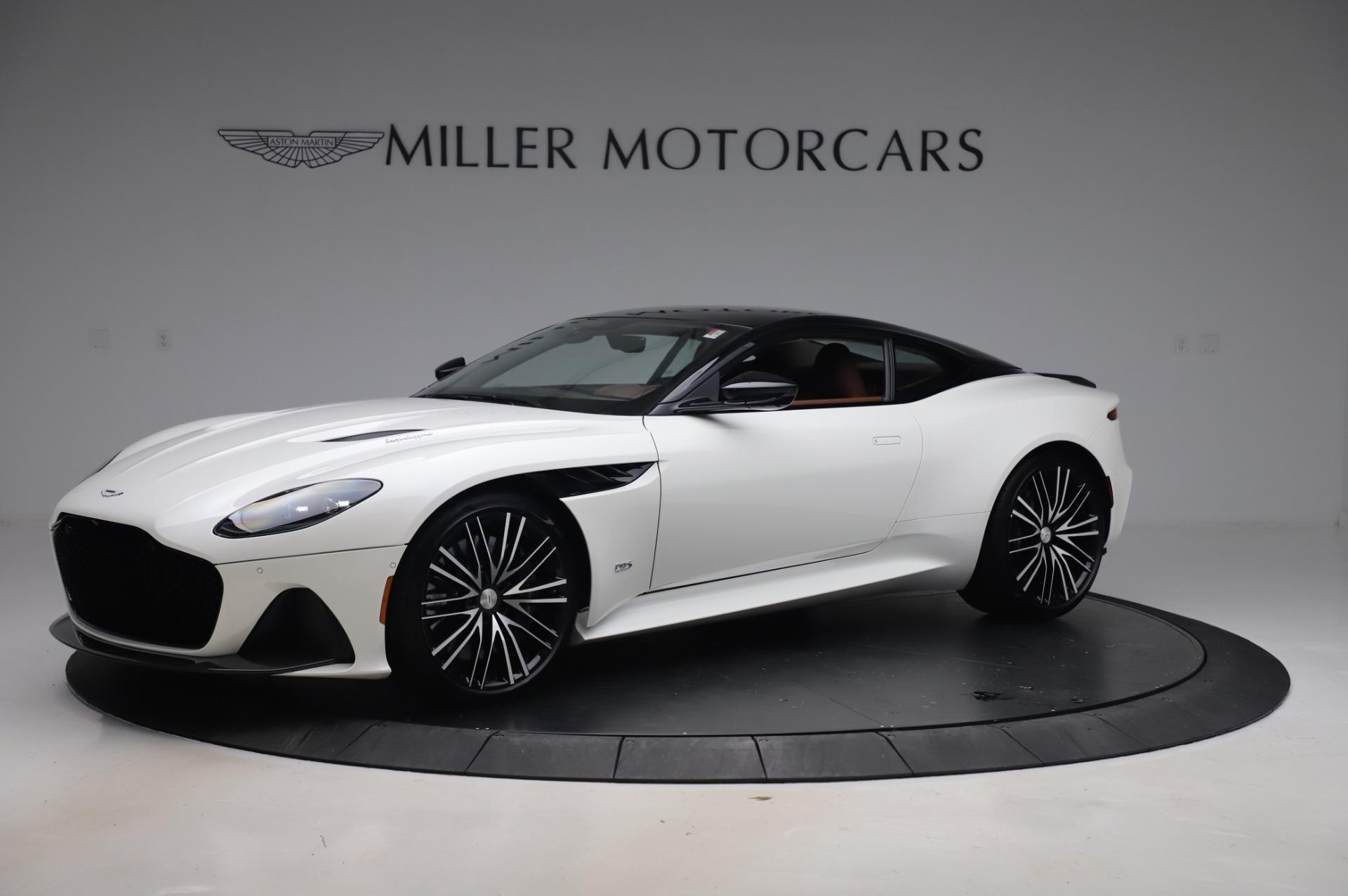 New 2020 Aston Martin DBS Superleggera for sale $337,686 at Pagani of Greenwich in Greenwich CT 06830 1