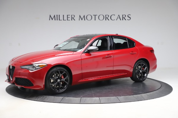 New 2020 Alfa Romeo Giulia Sport Q4 for sale $48,645 at Pagani of Greenwich in Greenwich CT 06830 2