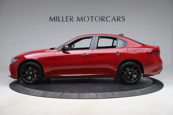 New 2020 Alfa Romeo Giulia Sport Q4 for sale $48,645 at Pagani of Greenwich in Greenwich CT 06830 3