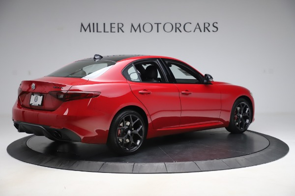 New 2020 Alfa Romeo Giulia Sport Q4 for sale $48,645 at Pagani of Greenwich in Greenwich CT 06830 8