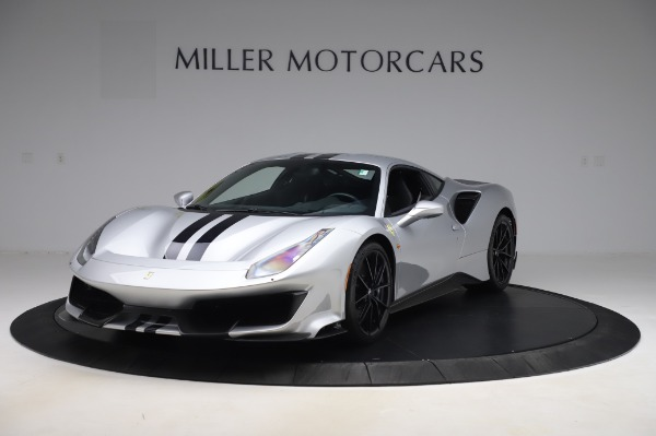 Used 2019 Ferrari 488 Pista for sale $451,900 at Pagani of Greenwich in Greenwich CT 06830 1