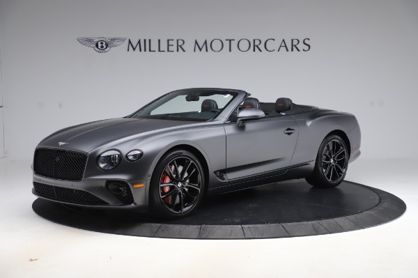 New 2020 Bentley Continental GTC W12 for sale $329,600 at Pagani of Greenwich in Greenwich CT 06830 2