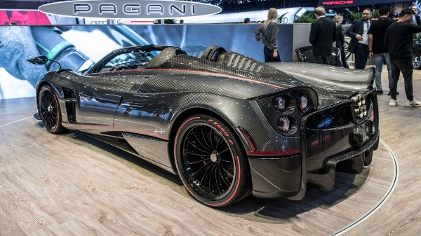 Used 2017 Pagani Huayra Roadster for sale Call for price at Pagani of Greenwich in Greenwich CT 06830 7
