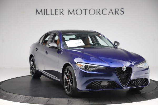 New 2020 Alfa Romeo Giulia Q4 for sale $47,845 at Pagani of Greenwich in Greenwich CT 06830 10