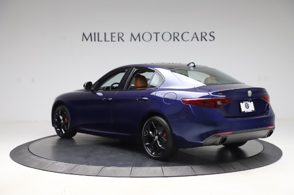 New 2020 Alfa Romeo Giulia Q4 for sale $42,845 at Pagani of Greenwich in Greenwich CT 06830 4