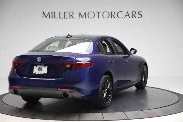 New 2020 Alfa Romeo Giulia Q4 for sale $47,845 at Pagani of Greenwich in Greenwich CT 06830 6