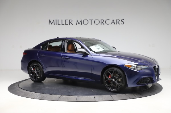 New 2020 Alfa Romeo Giulia Q4 for sale $47,845 at Pagani of Greenwich in Greenwich CT 06830 9