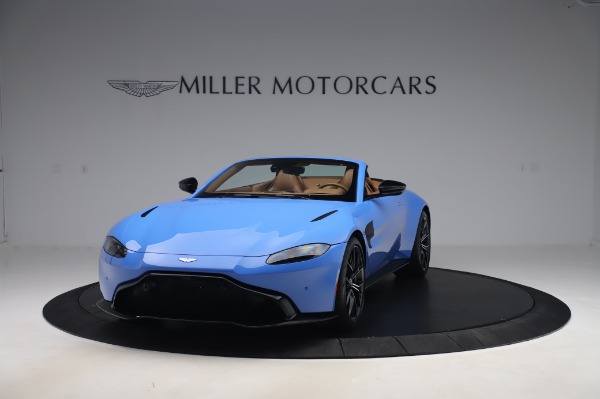 New 2021 Aston Martin Vantage Roadster for sale Call for price at Pagani of Greenwich in Greenwich CT 06830 12