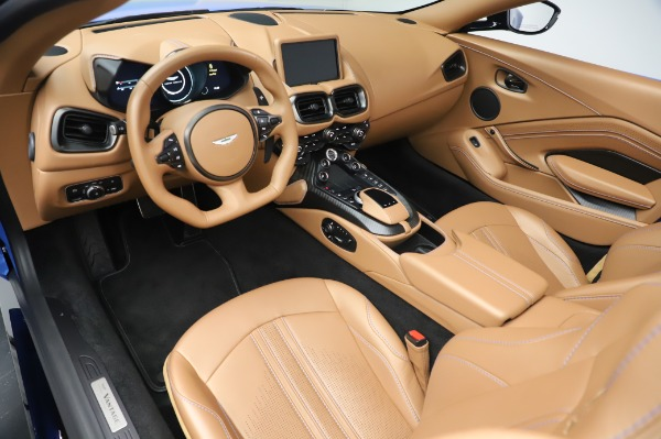 New 2021 Aston Martin Vantage Roadster for sale Call for price at Pagani of Greenwich in Greenwich CT 06830 13