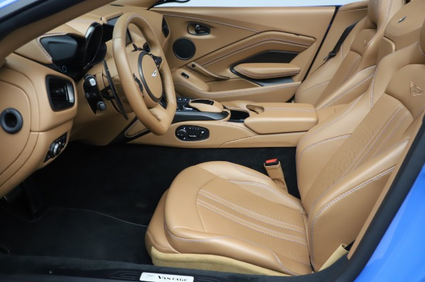 New 2021 Aston Martin Vantage Roadster for sale Call for price at Pagani of Greenwich in Greenwich CT 06830 14