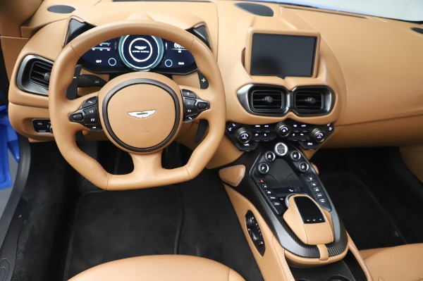 New 2021 Aston Martin Vantage Roadster for sale Call for price at Pagani of Greenwich in Greenwich CT 06830 17