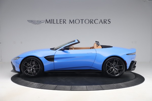 New 2021 Aston Martin Vantage Roadster for sale Call for price at Pagani of Greenwich in Greenwich CT 06830 2
