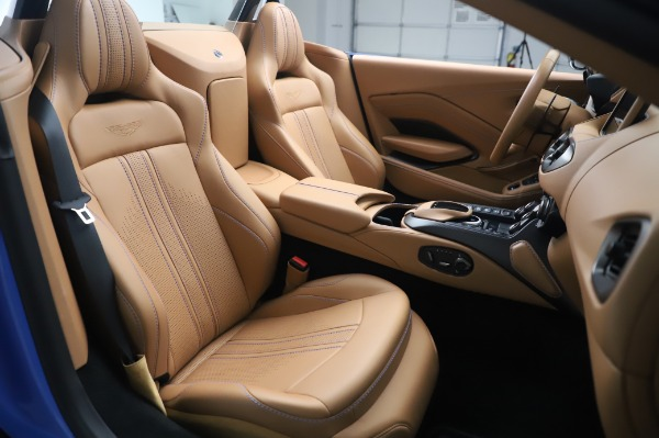 New 2021 Aston Martin Vantage Roadster for sale Call for price at Pagani of Greenwich in Greenwich CT 06830 20