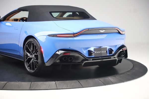 New 2021 Aston Martin Vantage Roadster for sale Call for price at Pagani of Greenwich in Greenwich CT 06830 25