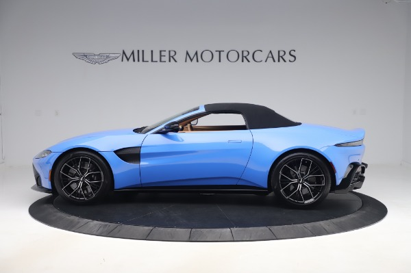 New 2021 Aston Martin Vantage Roadster for sale Call for price at Pagani of Greenwich in Greenwich CT 06830 27