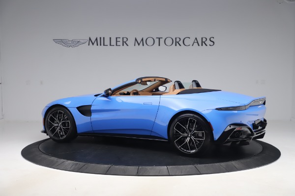 New 2021 Aston Martin Vantage Roadster for sale Call for price at Pagani of Greenwich in Greenwich CT 06830 3