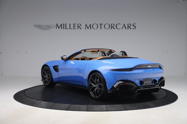 New 2021 Aston Martin Vantage Roadster for sale Call for price at Pagani of Greenwich in Greenwich CT 06830 4