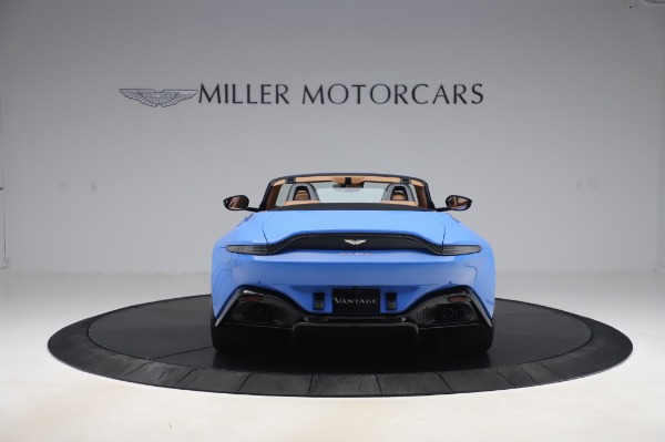 New 2021 Aston Martin Vantage Roadster for sale Call for price at Pagani of Greenwich in Greenwich CT 06830 5