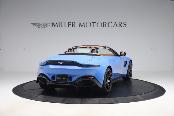 New 2021 Aston Martin Vantage Roadster for sale Call for price at Pagani of Greenwich in Greenwich CT 06830 6