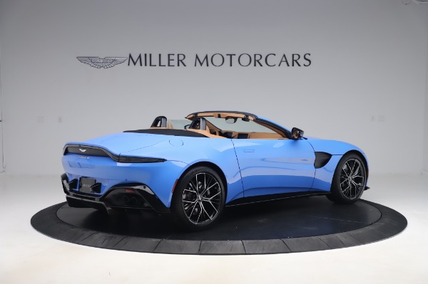New 2021 Aston Martin Vantage Roadster for sale Call for price at Pagani of Greenwich in Greenwich CT 06830 7